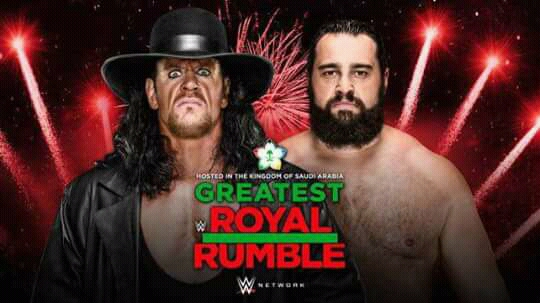 WWE: The Undertaker will face Rusev at The Greatest Royal Rumble - Saudi
