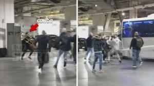 Breaking: UFC Super star Conor McGregor escorted from NYPD precinct in handcuffs (video) - Conor McGregor
