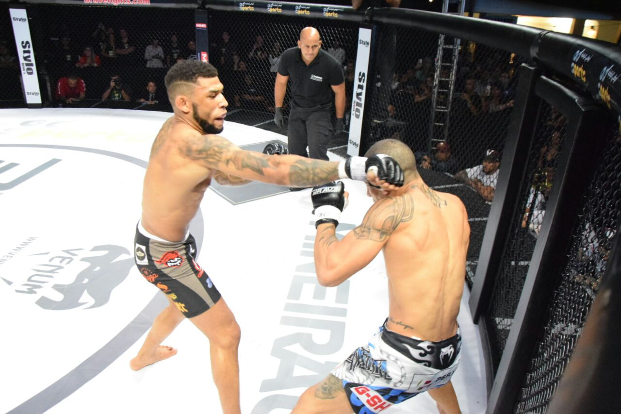 Luan Santiago out for a month; hopes to fight again for Brave title -