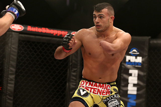 UFC: 'One-Armed Bandit' Nick Newell finally gets chance at UFC contract - nick newell