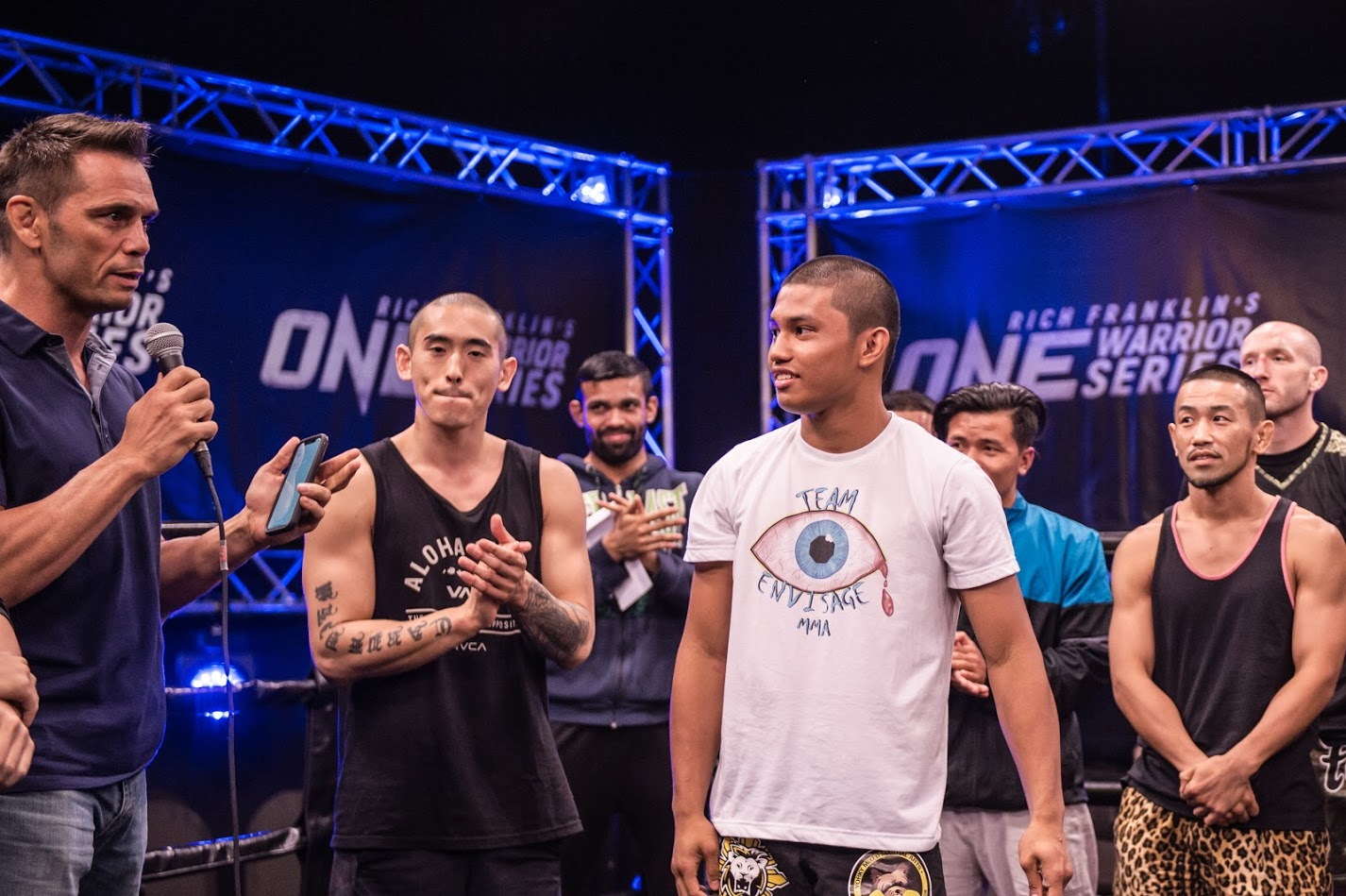 RICH FRANKLIN'S ONE WARRIOR SERIES FINALE AWARDS THREE PROSPECTS WITH USD $100K+ ONE CHAMPIONSHIP CONTRACTS -