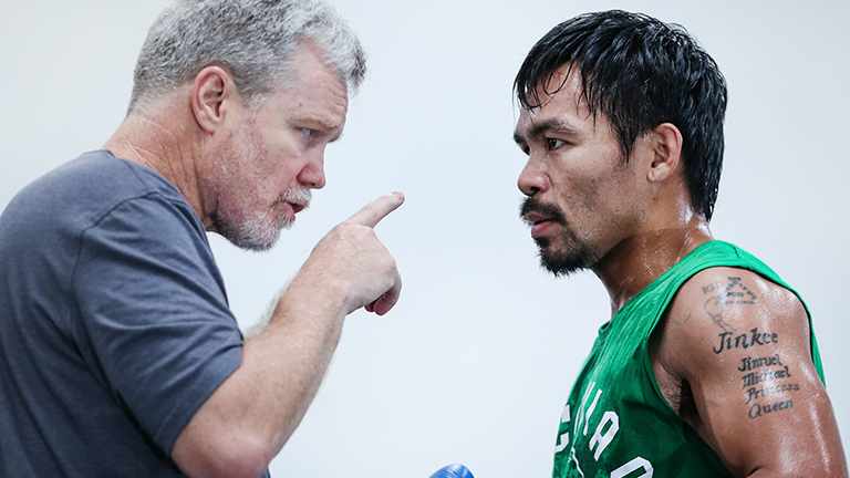 Boxing: Manny Pacquiao makes a U-Turn on Freddie Roach - Roach