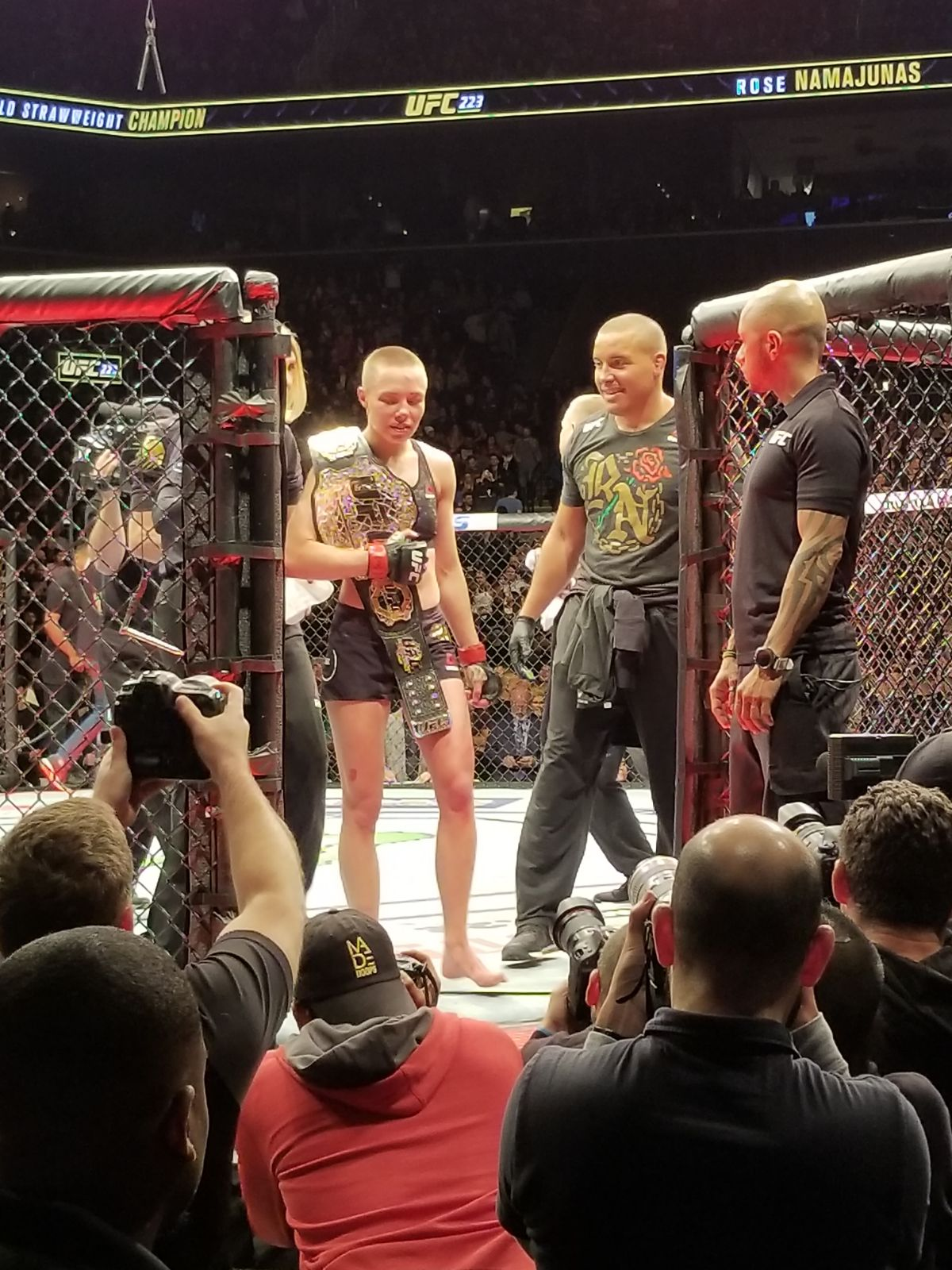 UFC 223 Results: Rose Namajunas Retains Her Title Belt in a Unanimous Victory -