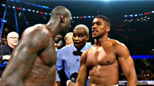 Boxing: Deontay Wilder offered a flat fee of $12.5 Million to fight Anthony Joshua - Joshua
