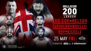 Bellator 200 is STACKED! Crocop, Mousasi, Nelson, Phil Davis, 'Venom' all feature in promotion's historic Bicentenary event - bellator 200