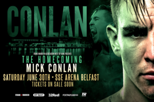 Boxing: Michael Conlan to have his homecoming fight in June - Conlan
