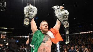 UFC: Conor McGregor reacts at claims that he will be stripped of his belt - Conor McGregor