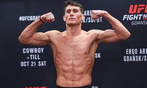UFC: Darren Till responds to Woodley calling him 'Light Work' - Darren Till