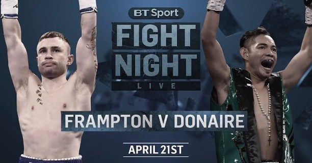 Boxing: Carl Frampton vs Nonito Donaire to stream Live on SHOWTIME - Showtime
