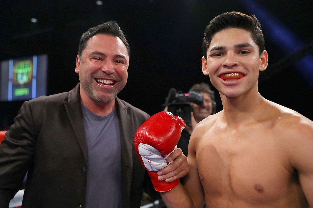 Boxing: Ryan Garcia steps up in class to fight Jayson Velez on May 4 - ESPN