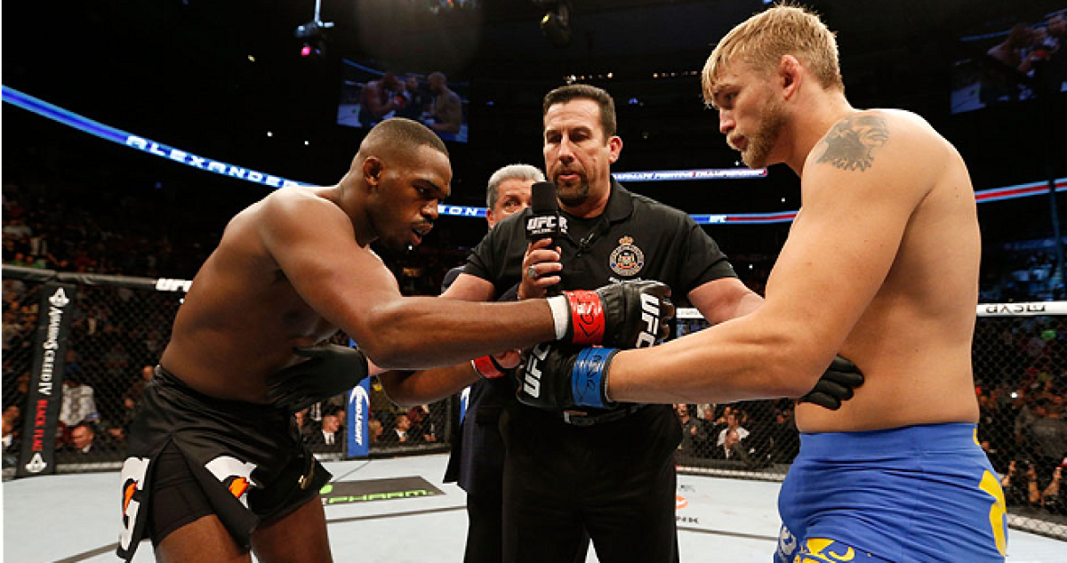 UFC: Jon Jones: 'You will never beat me Gustafsson' - jon jones