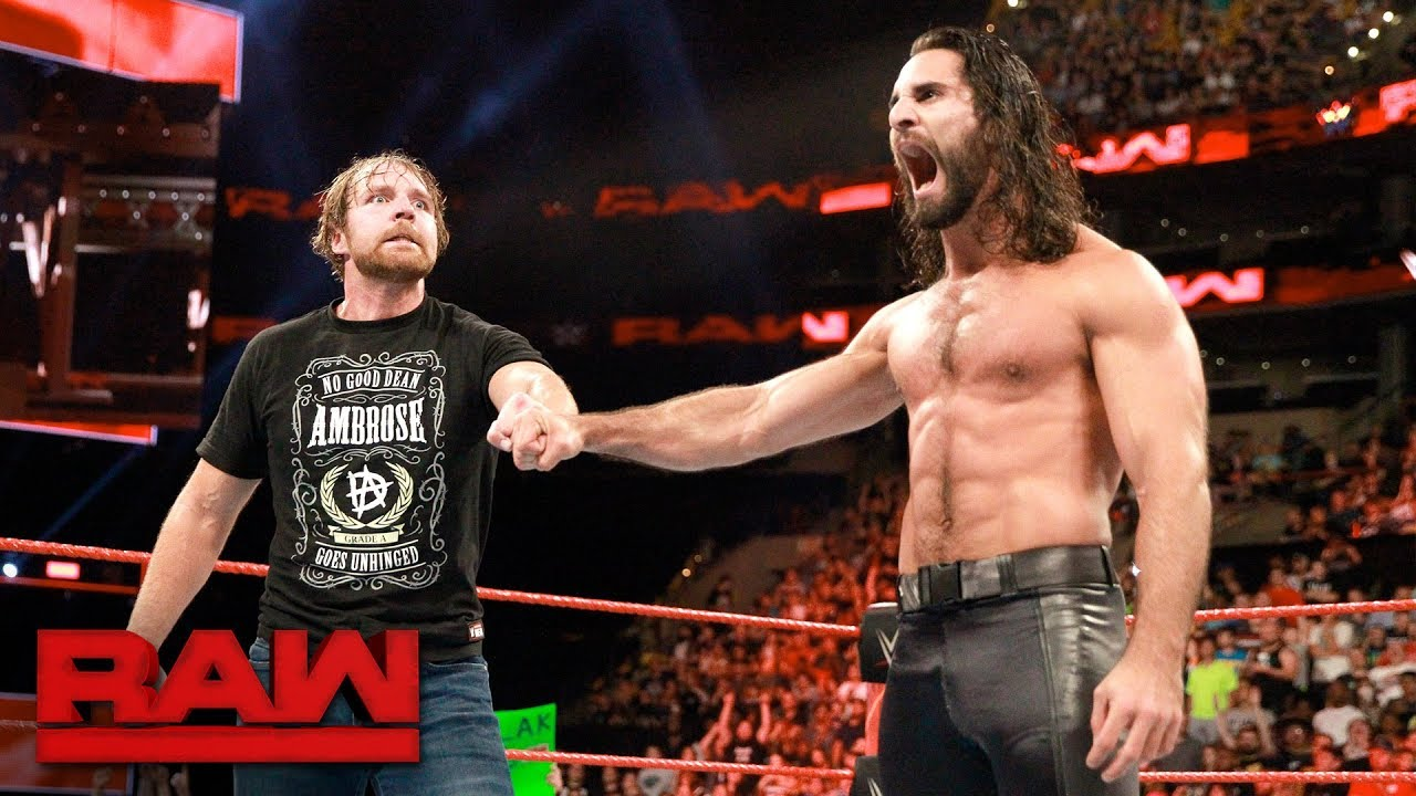WWE: Seth Rollins provides update on Dean Ambrose's injury - Dean Ambrose