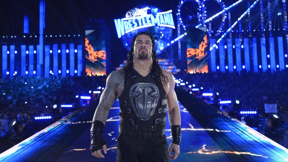 WWE: Roman Reigns reveals who he wants to have a match with at WrestleMania - Roman Reigns
