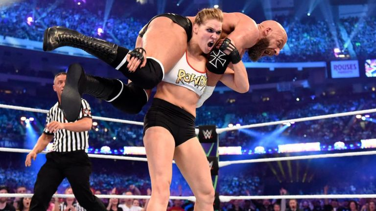 WWE: Jim Ross on how Ronda Rousey's pro wrestling debut the most impactful ever - Ronda Rousey