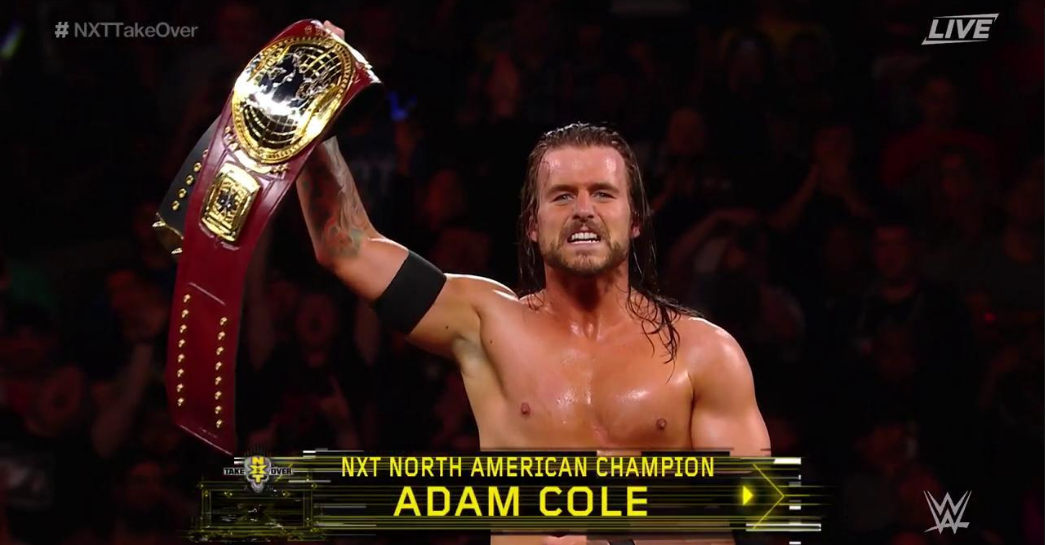 WWE: Adam Cole becomes the first ever NXT North American Champion -