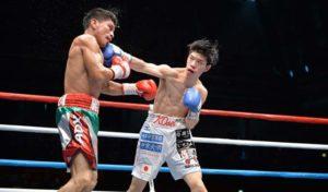 Boxing: Kosei Tanaka stops Ronnie Baldonado in his Flyweight debut - Tanaka