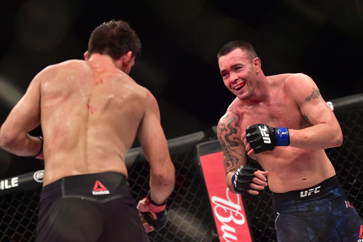 UFC: Rafael dos Anjos vs. Colby Covington is set for UFC 224 for interim title - Dos