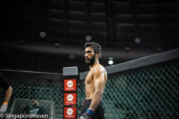 Indian MMA: Yadwinder Singh suffers defeat at Rebel Fighting  Championship - Yadwinder Singh