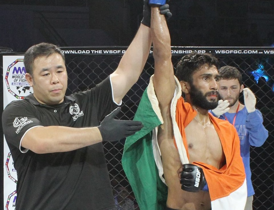 Indian MMA: Yadwinder Singh set to fight at Rebel Fighting Championship, aims strong return to the cage - Yadwinder Singh