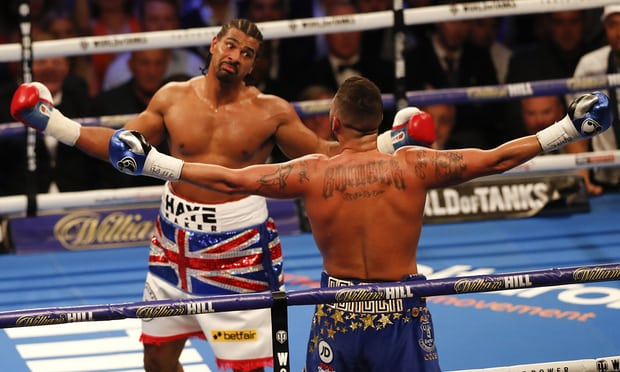 Boxing: Tony Bellew stops David Haye in the 5th round - Bellew