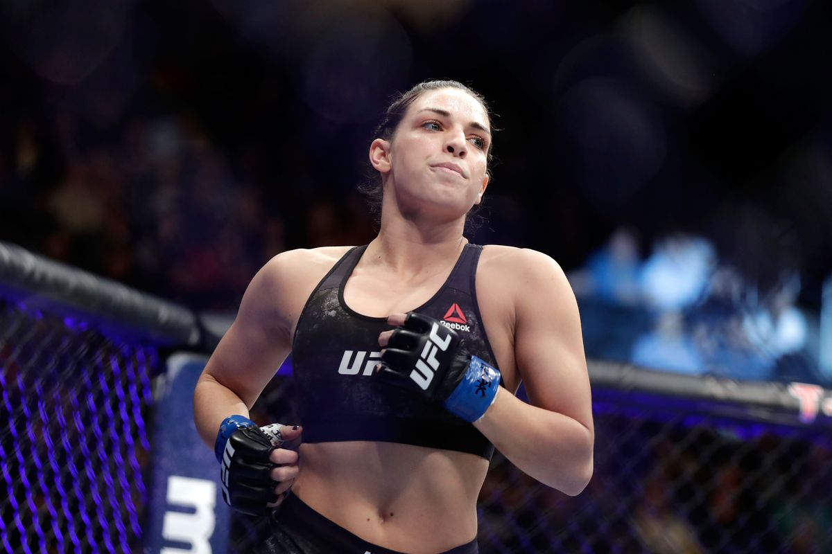 UFC: Fellow fighters Angela Hill and Felice Herrig verbally slam Mackenzie Dern being ranked in top 15 - Mackenzie Dern