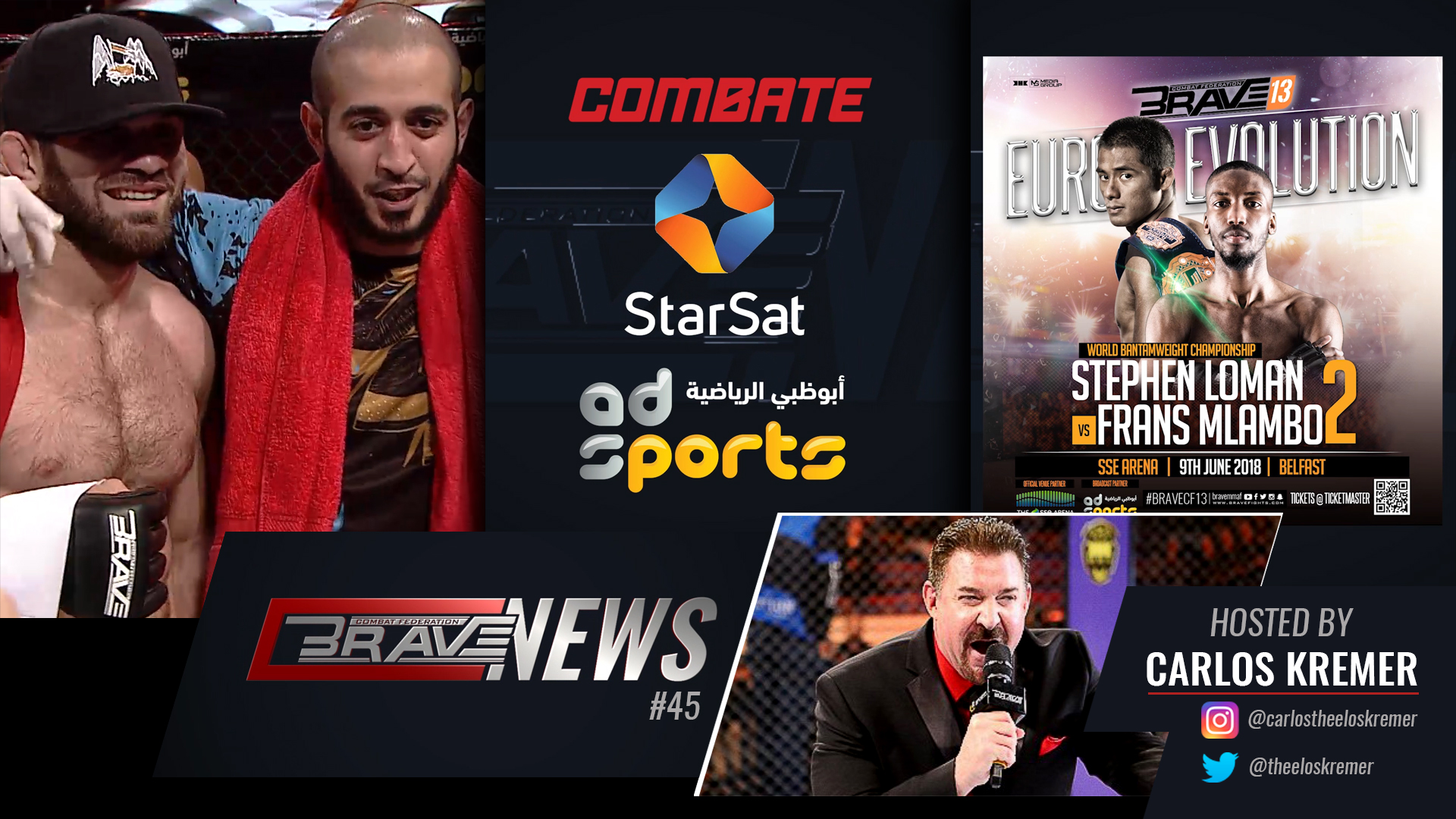Brave News #45: Fights confirmed for Brave 13; Amoussou compares Brave to Pride -