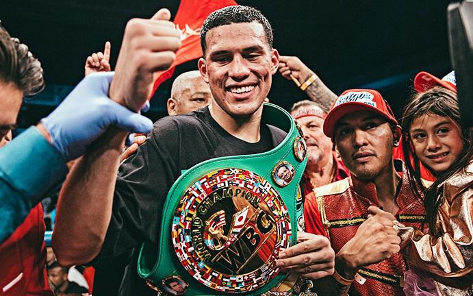 Boxing: David Benavidez signs with Top Rank Promotions - Benavidez