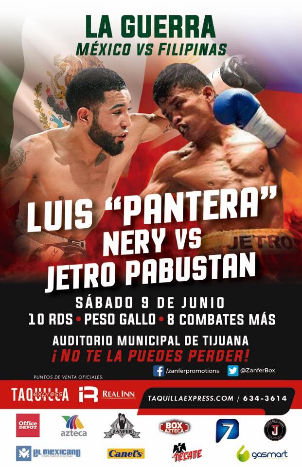 Boxing: Luis Nery withdraws from June 9 return against Jetro Pabustan - luis