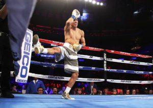 Boxing: Teofimo Lopez Celebrates Recent Win Doing a Fortnite Dance - López