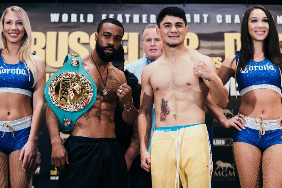 Boxing: Gary Russell Jr beats Joseph Diaz over twelve rounds to retain his world title - Diaz