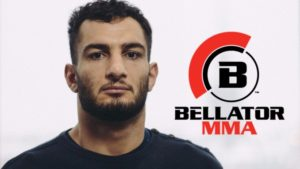 Bellator : Gegard Mousasi shows off all his professional title belts -