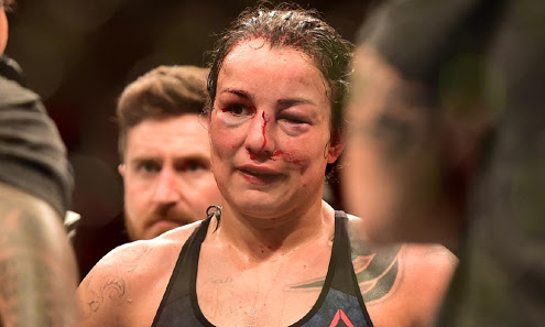 UFC: Tyron Woodley and Amanda Nunes criticize Raquel Pennington's coaches for not stopping the fight after the fourth round - Tyron Woodley