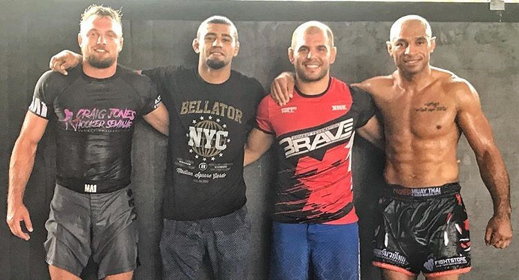 Suleiman trains with Brazilian stars ahead of Brave 13 -