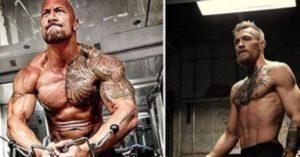 'The Rock' appreciates Conor McGregor; 'Notorious' returns the favour - the rock