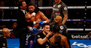 Boxing: Tony Bellew says he told the referee to stop the fight in the third round - Bellew
