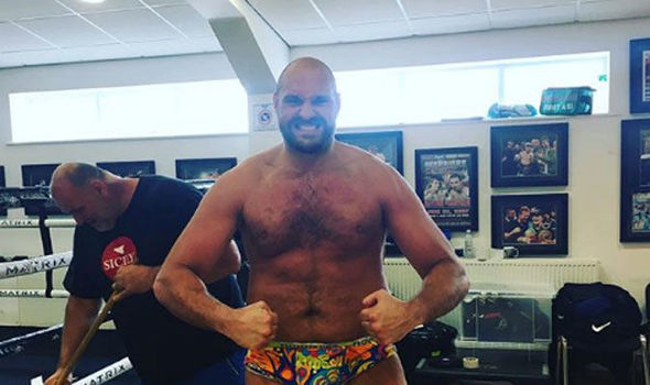 Boxing: Tyson Fury reveals his amazing Weight loss ahead of his ring return - Fury