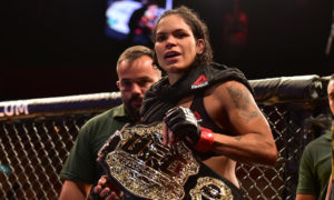 UFC: Amanda Nunes finishes Raquel Pennington in fifth round in Rio - Nunes
