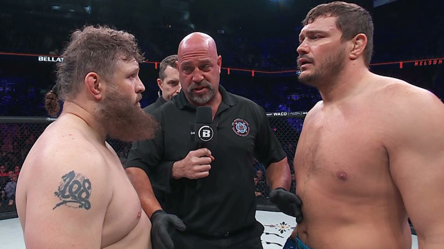 Bellator: Roy Nelson wants revenge versus Matt Mitrione; Fedor is his 'dream fight' - roy nelson