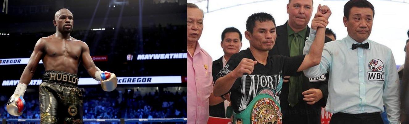 Boxing: Wanheng Menayothin of Thailand equals Floyd Mayweather's record of 50-0 - Estrada