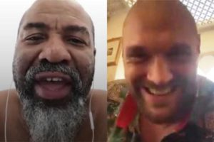 Boxing: Tyson Fury AGREES to fight Shannon Briggs on Instagram Live – as Briggs sits on toilet - Briggs
