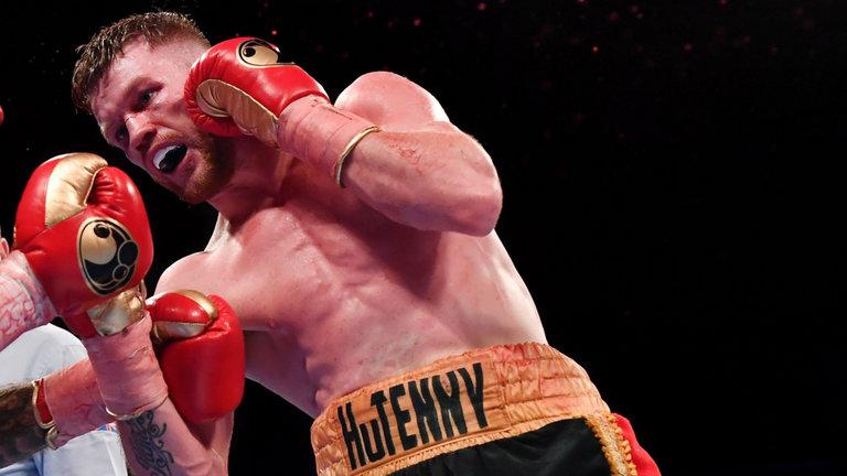 Boxing: James Tennyson stops Martin J Ward in the fifth round - Tennyson