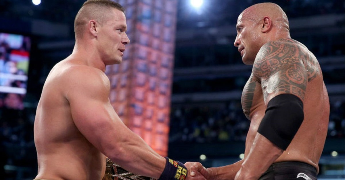 WWE: The Rock and John Cena to team up for a film - John Cena