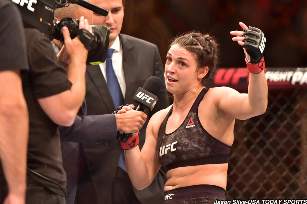 UFC: Mackenzie Dern opens up about missing weight, says that she is ashamed - Mackenzie Dern
