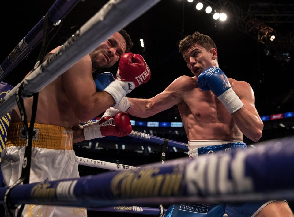 Boxing: Luke Campbell stops Troy James in fifth round - Luke