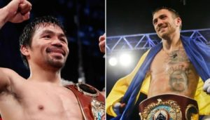 Boxing: Manny Pacquiao wants Lomachenko next for LW title, after Lucas Matthysse - pacquiao lomachenko