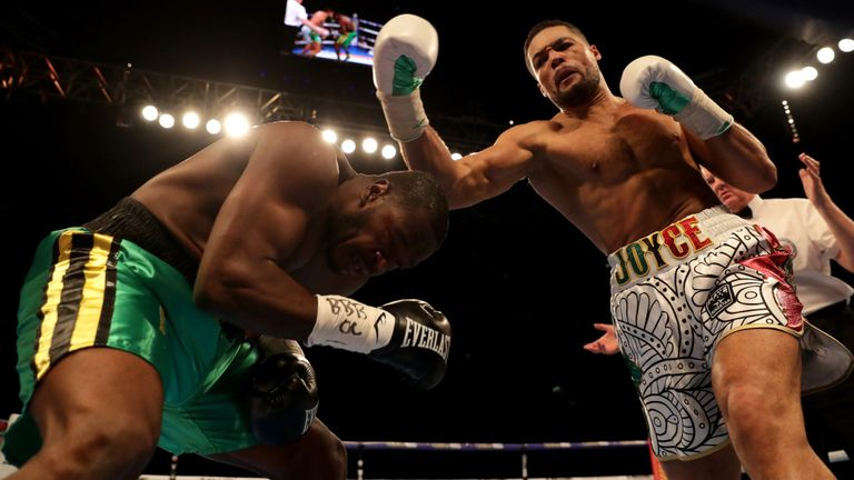 Boxing: Joe Joyce Blasts Out Lenroy Thomas in Two Rounds - Thomas