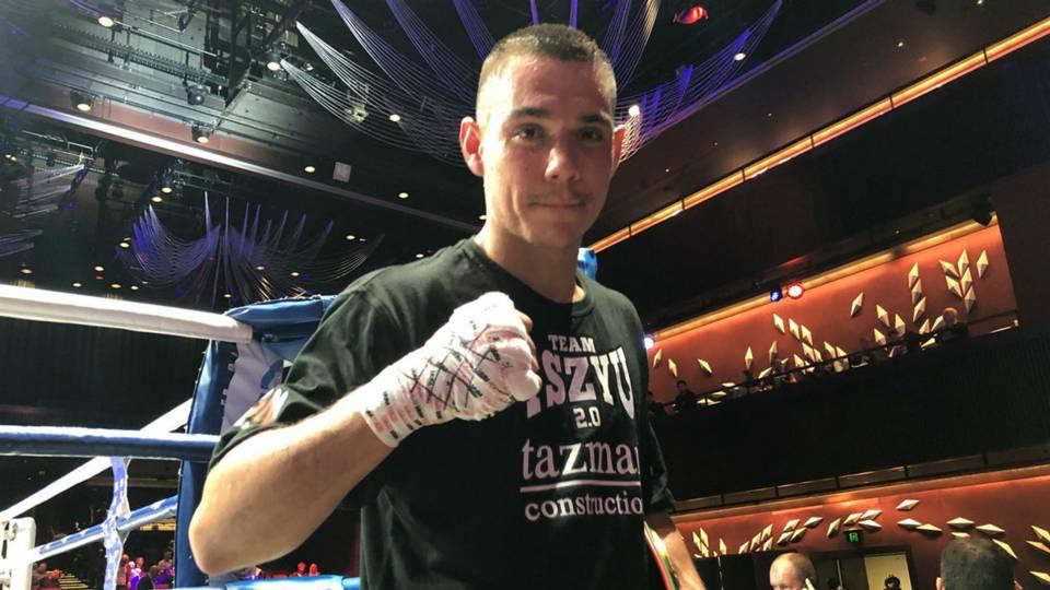 Boxing: Tim Tszyu earns fourth round TKO Win over Larry Siwu - Tszyu
