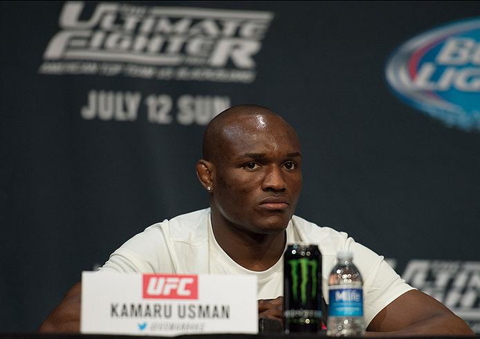 UFC: Kamaru Usman wants to punch a hole through the head of Colby Covington - Kamaru Usman