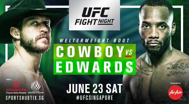 UFC Singapore Full Results: Edwards edges out Cerrone, OSP submits Pedro - UFC Singapore
