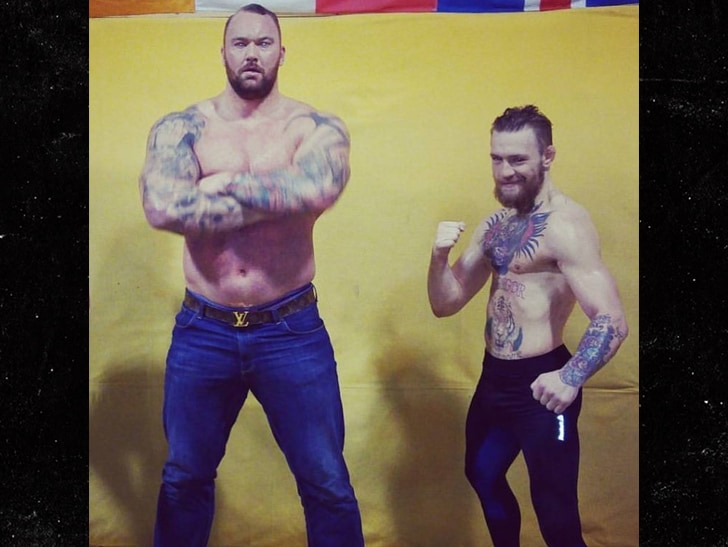 UFC: Game of Thrones' 'The Mountain' wants rematch with Conor; intends to 'SMASH' him - game of thrones